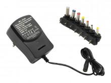 Transformador Regulável 3 / 4.5 / 6 / 7.5 / 9 / 12V 1.2A - 15W