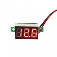 Voltímetro Digital Pequeno - LED Vermelho 2,5 - 30VDC