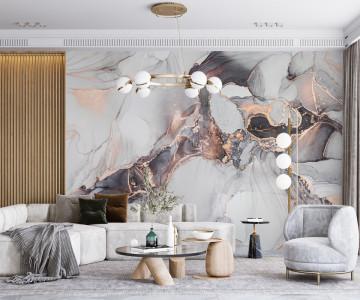 Fototapet Luxury Abstract Fluid