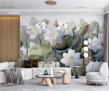 Fototapet Lotus Flowers