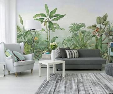 Fototapet Frunze Exotice Tropicale