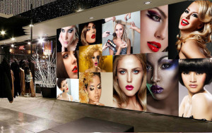 Fototapet Personalizat Salon Make-up Modern