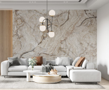 Fototapet Grey Marble Stone