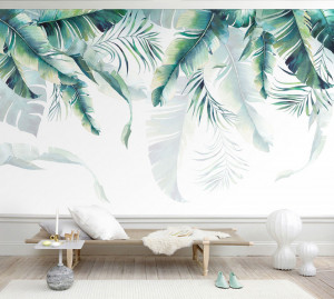 Fototapet Personalizat Abstract Tropical