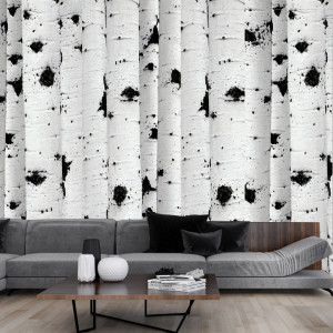 Fototapet Personalizat The Black and White Forest