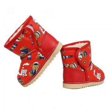 Cizme Copii Panda Red