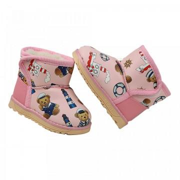 Cizme Copii Panda Pink
