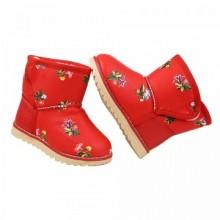 Cizme Copii Panda Red Flowers