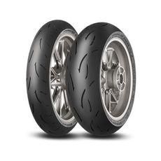 DUNLOP - SET SPORTMAX GP RACER D212: 120/70-17 MEDIUM + 180/55-17 ENDURANCE