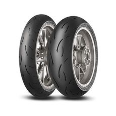 DUNLOP - SET SPORTMAX GP RACER D212: 120/70-17 MEDIUM + 190/55-17 ENDURANCE