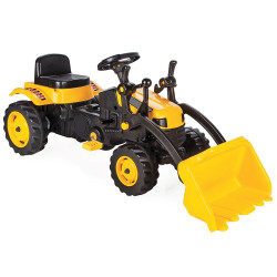 Tractor cu pedale Pilsan Active with Loader 07-315 yellow