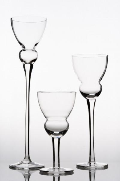 sfesnic sticla suport lumanare