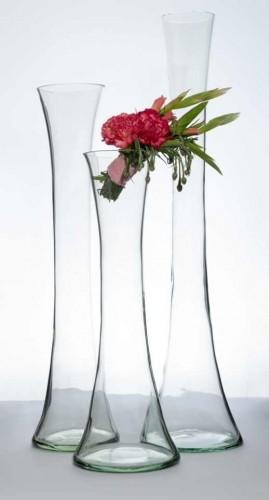 vaza sticla pentru nunta si aranjamente florale