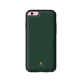 Husa  iPhone 6 / iPhone 6S Apple Just Must Verde (protectie margine 360°)