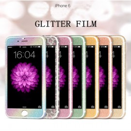 Folie de lux din PVC Bling stras Sparkle full body pentru Apple iPhone 6 / iPhone 6S