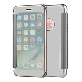Poze Husa Clear View Book Mirror  iPhone 8