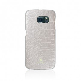 Poze Husa Samsung Galaxy S6 Edge Carcasa G925 Just Must Croco Beige