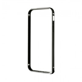 Bumper iPhone SE / 5S Devia Buckle Black (aluminiu)