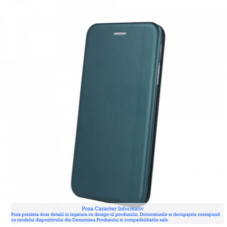 Husa Carte Smart Diva Samsung Galaxy Note 10 Lite / A81, Green