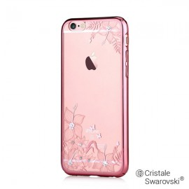 Husa iPhone 6/6S Devia Crystal Engaging Rose Gold (Cristale Swarovski®, electroplacat)