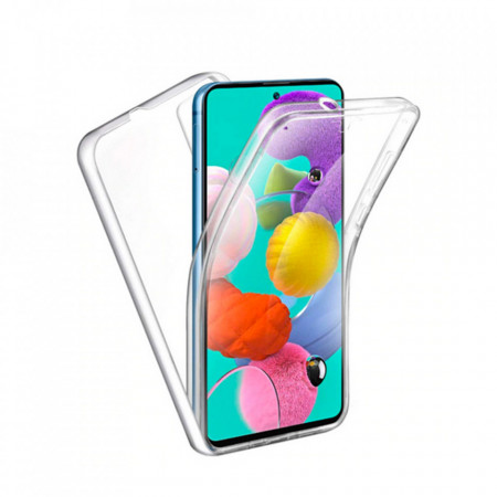 Husa Protectie 360° Fully PC & Glass (TPU + Plastic) Huawei Y6P