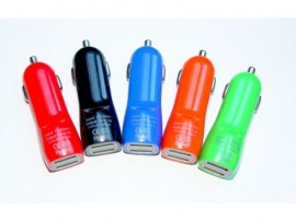 Incarcator auto USB 2 IN 1 NEW COLOR