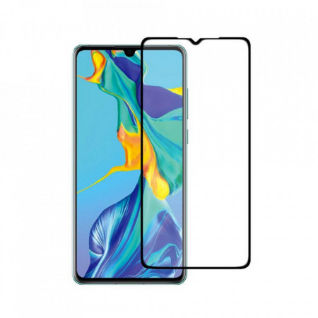 Folie din sticla 3D securizata MyScreen Huawei P30 Lite, Full Glue, Black
