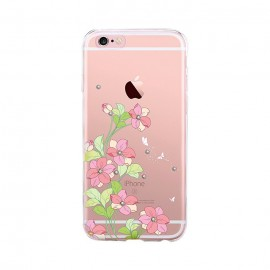 Husa Devia Silicon Bluebell iPhone 6 Plus Pink