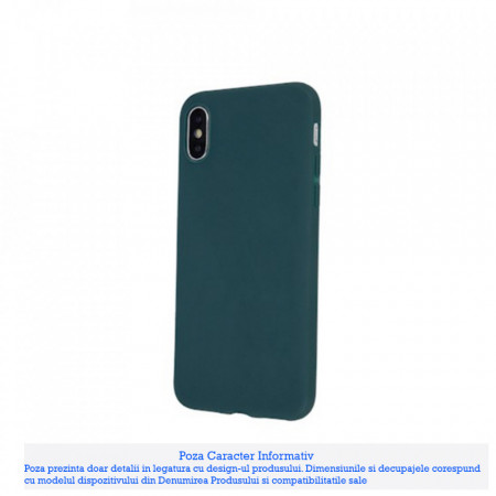 Husa Matt Tpu Samsung Galaxy Note 10 Lite / A81, Forest Green
