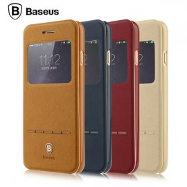 Husa Baseus Leather Series Window Flip Active iPhone 7 / 7 Plus