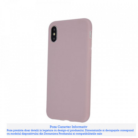 Husa Matt Tpu Samsung Galaxy Note 10 Lite / A81, Powder Pink