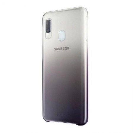 Husa Plastic Gradient Vibration Originala Samsung Galaxy A20e, Black