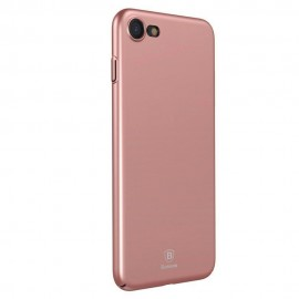 Husa de telefon Baseus Originala, Simple Matte, Ultra Slim, iPhone 7, Rose