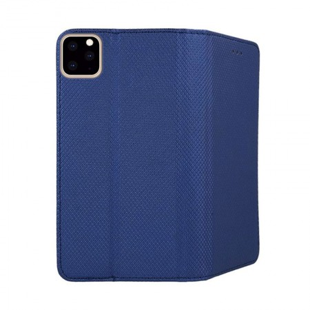 Husa High Quality Flip Cover Soft Magnet pentru Apple iPhone 11 / XI, Albastru