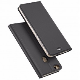 Husa Leather Flip DD, Huawei P10 Lite, Black