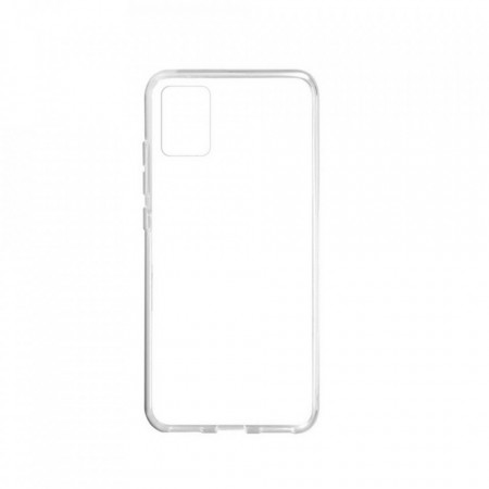 Premium Silicon Case pentru Samsung Galaxy A51, Transparent
