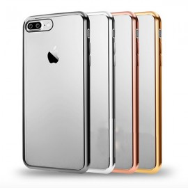 Resigilat - Huse Clear View pentru Apple iPhone 7 / 7 Plus - electroplacata