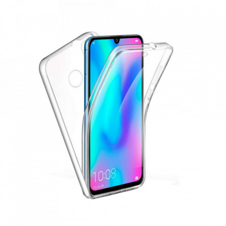 Husa Xiaomi Mi Note 10 HTPhone Full Tpu 360 V2 Transparent