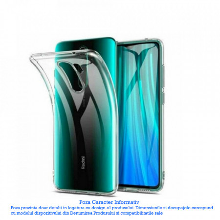 Husa XIAOMI Redmi Note 8 Pro - Luxury Slim Case TSS, Transparent