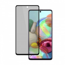Folie de sticla privancy 5D pentru Samsung Galaxy A71, Privacy Glass HTPhone, folie securizata duritate 9H anti amprente