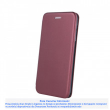 Husa Carte Smart Diva Samsung Galaxy Note 10 Lite / A81, Burgundy