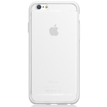 Husa iPhone 6 / iPhone 6S Apple White (laterale anti-shock)