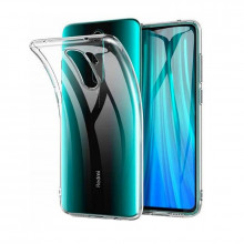 SET 1x Husa silicon Xiaomi Redmi Note 8 Pro transparent SI 1x Folie sticla securizata Xiaomi Redmi Note 8 Pro, Htphone
