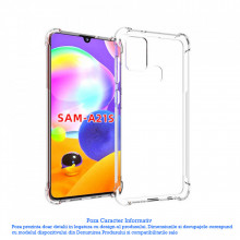 Husa Samsung Galaxy A21S TPU Anti Shock Transparenta
