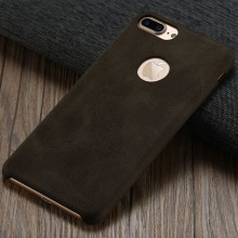 Huse Coffee Lether PU pentru Apple iPhone 7 Plus, Brown