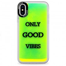 Huse Neon Apple iPhone X/XS, Glow In The Dark