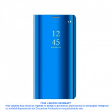 Husa Samsung Galaxy A21S Clear View Blue