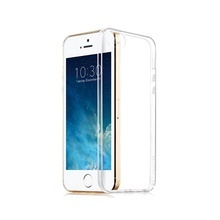 Husa Transparenta din Silicon Ultra Thin 0.3 mm pentru Apple iPhone 5 / 5S / SE