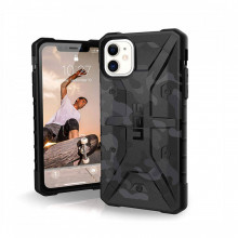 Husa Apple iPhone 11 UAG Pathfinder Armor Rugged, Grey