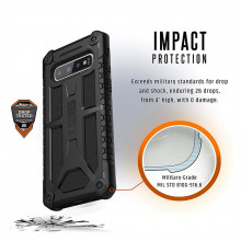 Husa Samsung Galaxy S10 Plus UAG Monarch Armor Gear Black